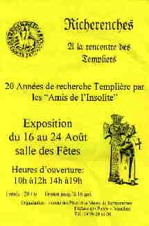 Affiche Richerenches (1997)