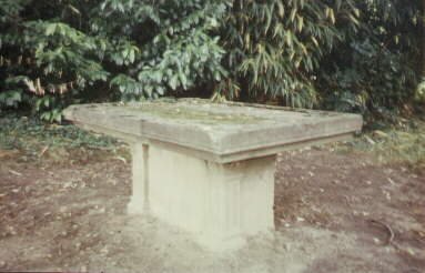 Laumusse : table d'autel